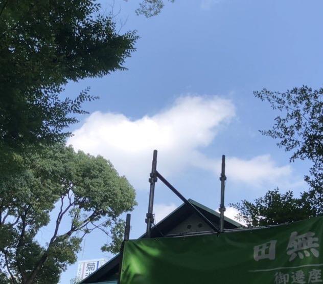 田無神社の龍神様